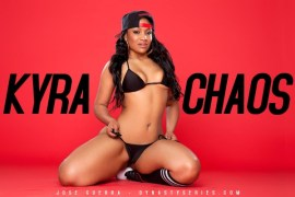 Kyra-Chaos-showing-off-her-phat-ass-in-a-black-bikini-and-knee-high-socks-in-her-shoot-with-Jose-Guerra-10