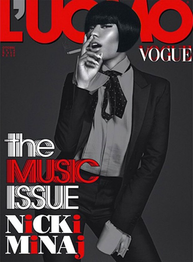 Nicki-Minaj-shoots-for-L'Uomo-Vogue-Italia-cover-wizsdailydose.com
