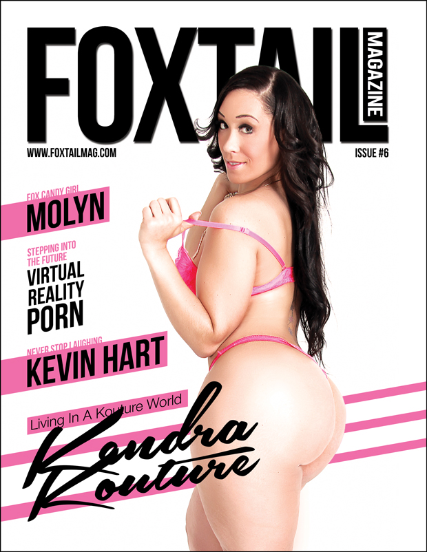 Kendra Kouture in foxtail magazine shot by Jaycee cover