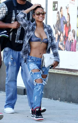 Christina Milian out and about in Los Angeles