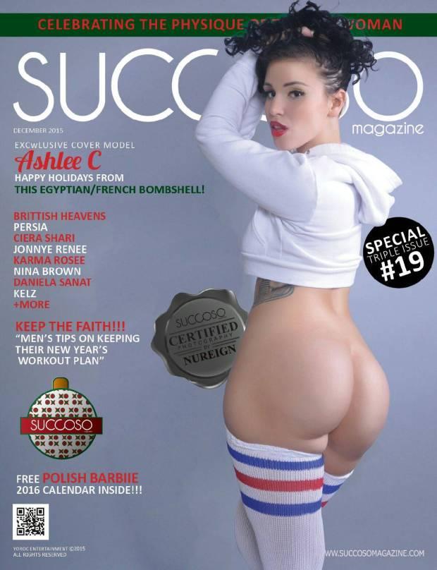 Ashlee C - succoso magazine  cover by nureign