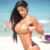 The Fitness sensation seen enjoying a day at the beach and sent tempatures rising flaunting her perfect bikini body.She has taken the social media by storm and has Millions of women and men following her workout tips. the Venezuela native told CNN Mexico that she has always struggled with her weight and has taken a long time to get to this point. Pictured: Michelle Lewin Ref: SPL855374 021014 Picture by: Splash News Splash News and Pictures Los Angeles: 310-821-2666 New York: 212-619-2666 London: 870-934-2666 photodesk@splashnews.com