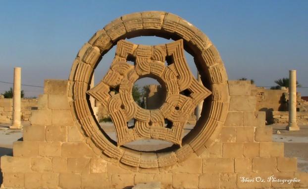 Window in Hisham's Water Palace, Jericho