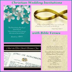 Verse Wedding Invitations For