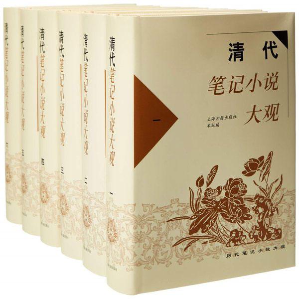清代筆記小說大觀(全六冊)
