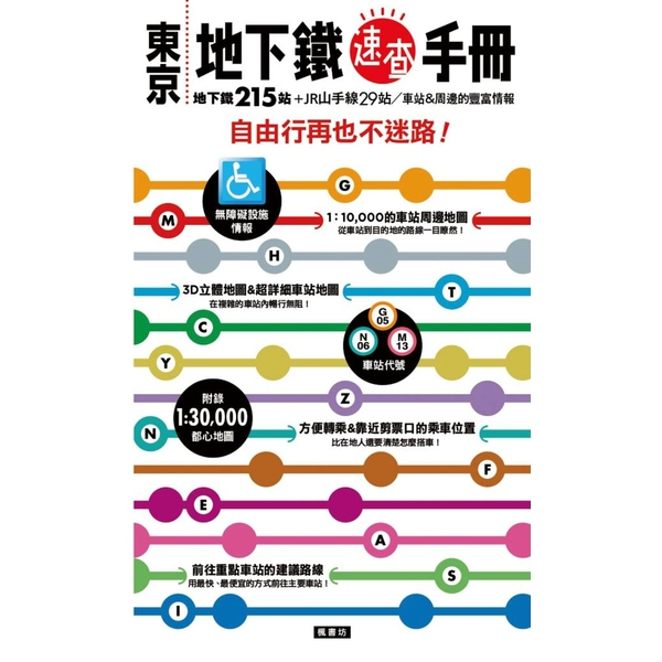 東京地下鐵速查手冊