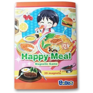 3折頁磁貼書:快樂小廚師