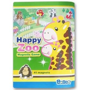 3折頁磁貼書:快樂動物園