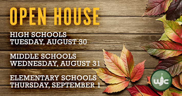Open House Dates for 2016-17 School Year