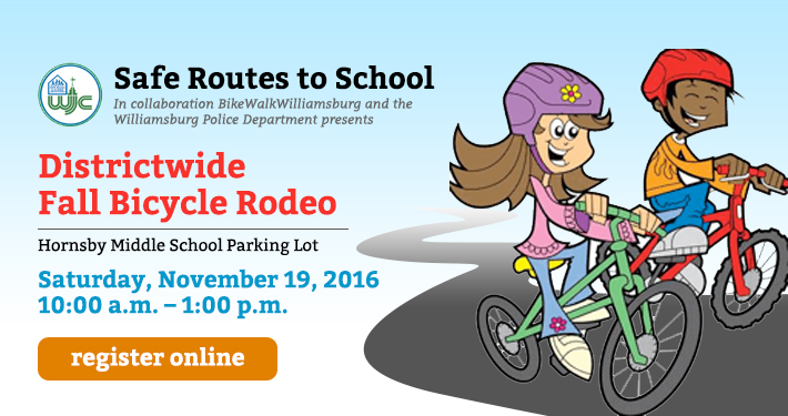 Safe Routes to School Districtwide Fall Bicycle Rodeo