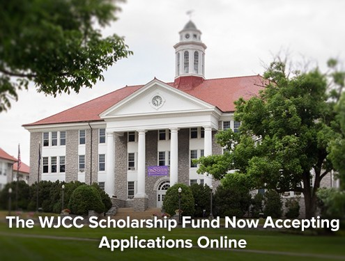 The WJCC Scholarship Fund Now Accepting Applications Online