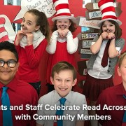 Norge Students and Staff Celebrate Read Across America Day with Community Members