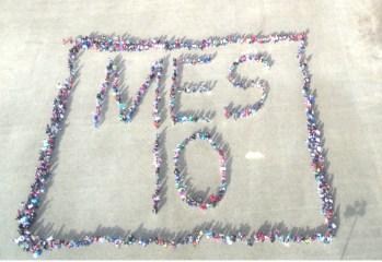 Matoaka Elementary School 10 Year Anniversary Aerial