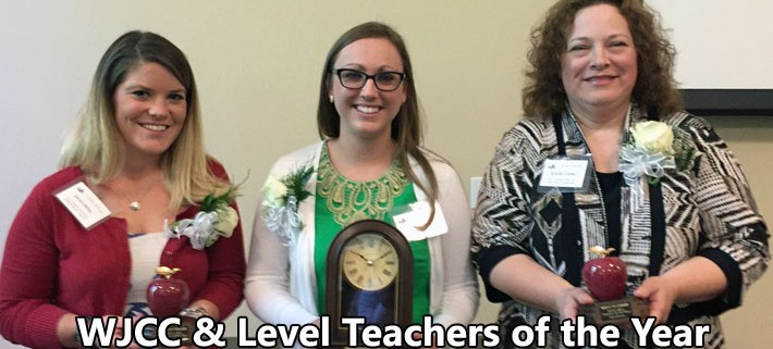 WJCC & Level Teachers of the Year