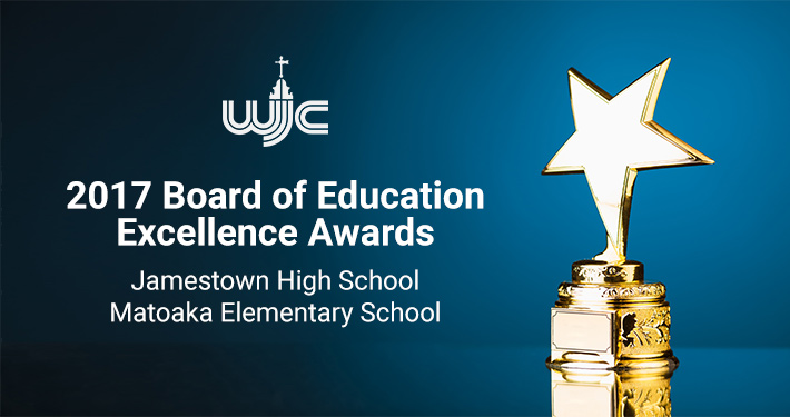 2017 Board of Education Excellence Awards2017 Board of Education Excellence Awards Jamestown High School and Matoaka Elementary School