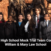 Lafayette High School Mock Trial Team Competes at William & Mary Law School