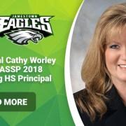 JHS Principal Cathy Worley Named VASSP 2018 Outstanding HS Principal