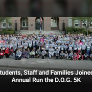 WJCC Students, Staff and Families Joined the 9th Annual Run the D.O.G. 5K
