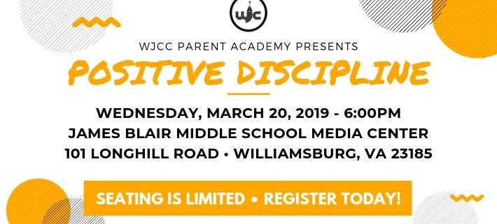 Parent Academy: Positive Discipline