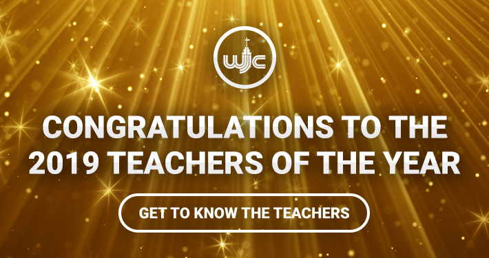 Congratulations to the 2019 Teachers of the Year