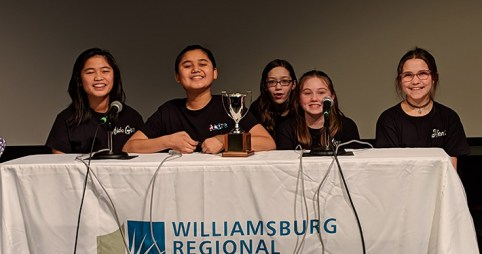 JBMS Battle of the Books Team Wins First Place!
