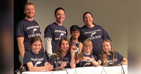 James River Elementary wins Battle of the Books