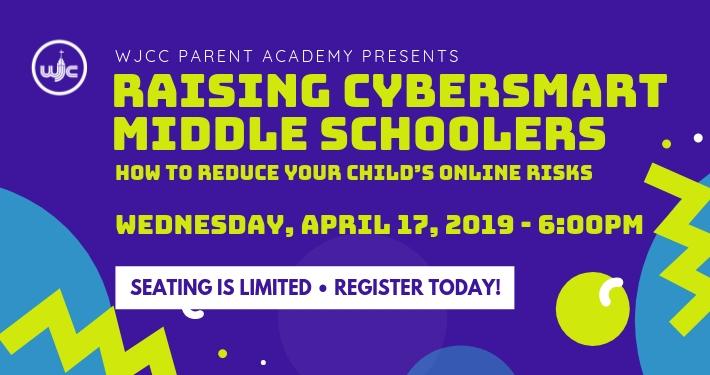 Parent Academy - Raising Cybersmart Middle Schoolers