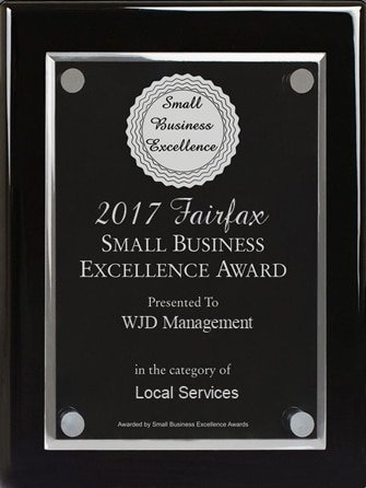 Fairfax Small Business Excellence Award