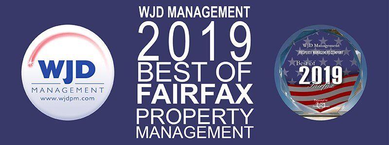 WJD Management Wins Fairfax Small Business Excellence Award 2019_wjd management award winning residential property management northern virginia