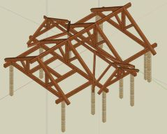 3D Timber Frame Design
