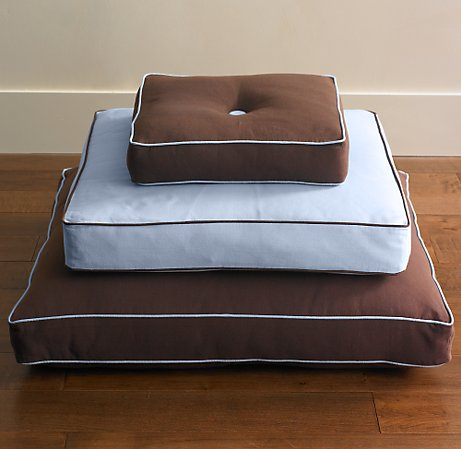 square tufted floor pillows weekend
