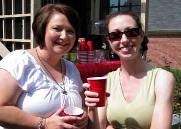 Pam and Stephanie