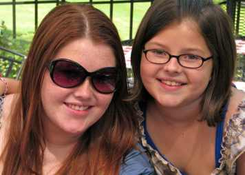 Emily and Abby