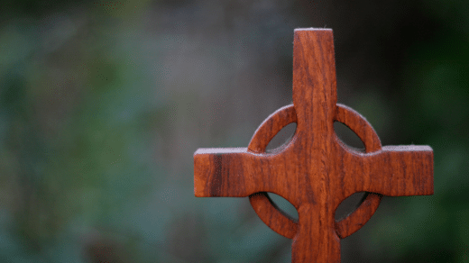 Wooden Celtic Cross