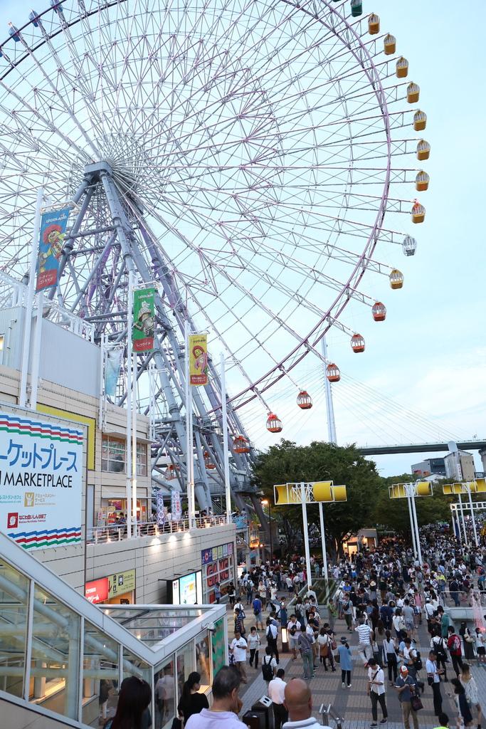 【大阪周遊券必去】天保山摩天輪,透明車廂,推薦+海遊館行程