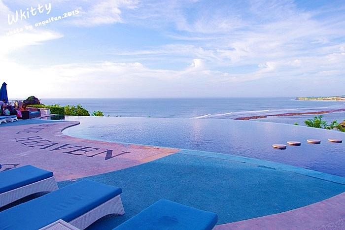 Blue Heaven,峇里島,巴里島,景觀餐廳,無邊際泳池,自助,自由行,藍色天堂 @小環妞 幸福足跡