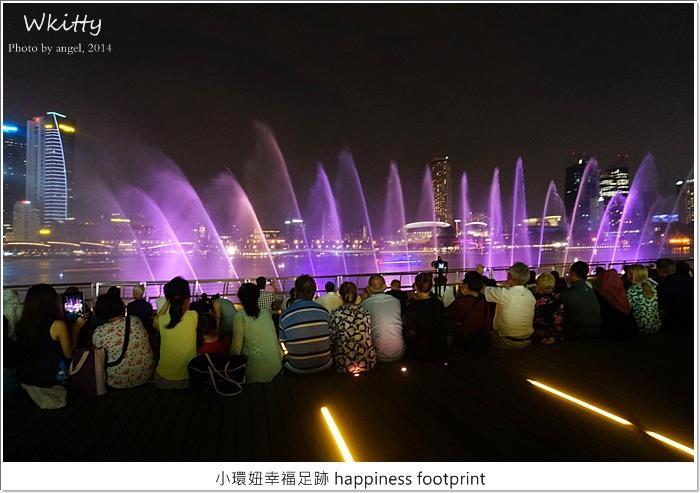 新加坡夜景,新加坡景點,新加坡水舞,新加坡行程規劃,金沙酒店 新加坡,金沙酒店前水舞秀,金沙酒店水舞秀 @小環妞 幸福足跡