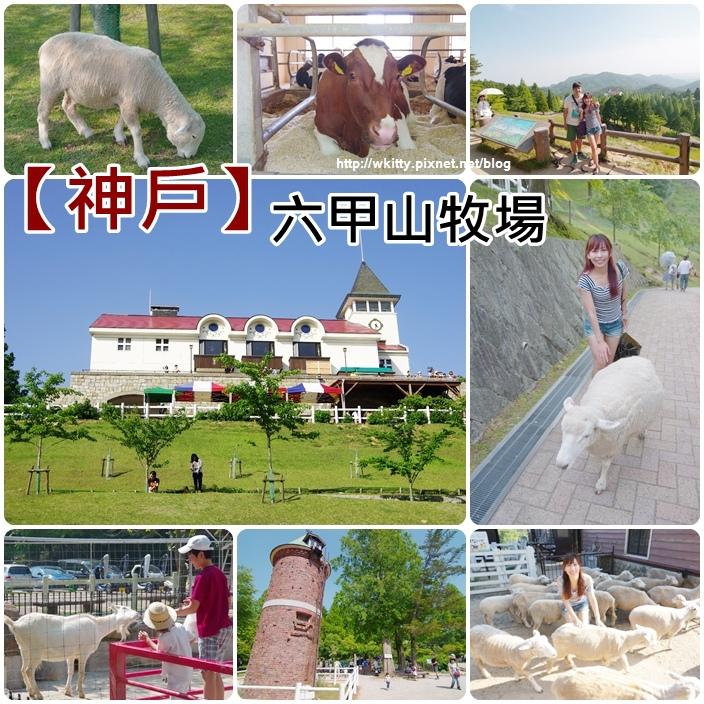 【神戶景點】六甲山牧場,山上牧場看羊咩咩,好像到了日本清境農場!(36)