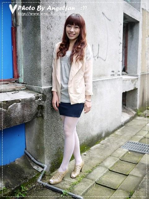 [穿搭]白色襪襪不俗氣~春夏穿搭變韓妞 @小環妞 幸福足跡