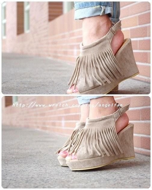 [穿搭]高跟鞋掰~別讓厚底鞋缺席妳的鞋櫃~!! @小環妞 幸福足跡
