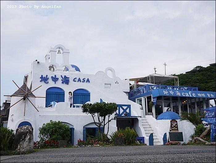 [宜蘭景觀餐廳]˙南方澳地中海CASA ♥ 飛離台灣,來到希臘地中海!? @小環妞 幸福足跡