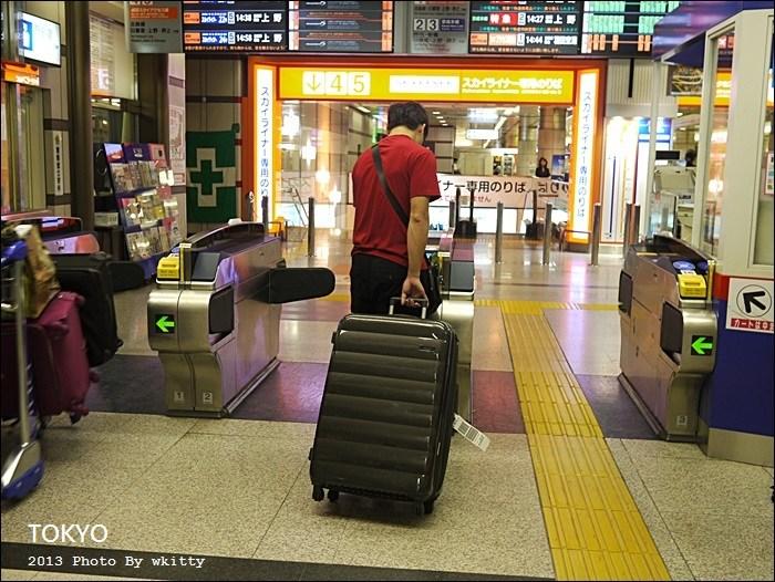 【東京成田機場交通】成田機場到東京(京成電鐵),東京地鐵SUICA(西瓜卡)(4) @小環妞 幸福足跡