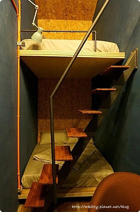 [台南民宿推薦]˙駐宅(住窄) ♥ 不可思議的空間運用,窄房無限創意 @小環妞 幸福足跡
