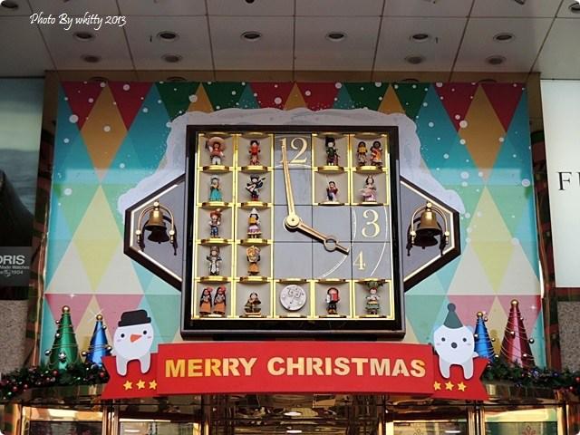 [台中泰迪熊]˙今年聖誕節蒐集耶誕熊正夯 ♥ 2013泰迪熊台中樂活嘉年華 @小環妞 幸福足跡