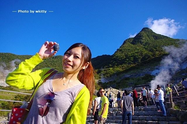 大涌谷 黑蛋,東京富士山,箱根一日遊,箱根大涌谷,箱根富士山,箱根必去景點,箱根景點,箱根景點懶人包 @小環妞 幸福足跡