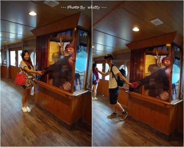 [東京箱根自由行] 箱根海賊船 ♥ 蘆之湖好風光~一起來當個小海盜吧(24) @小環妞 幸福足跡