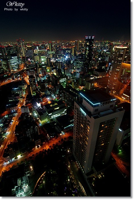 大阪 夜景 推薦,大阪 梅田空中景觀台,大阪旅遊景點,大阪景點推薦,梅田景點推薦 @小環妞 幸福足跡