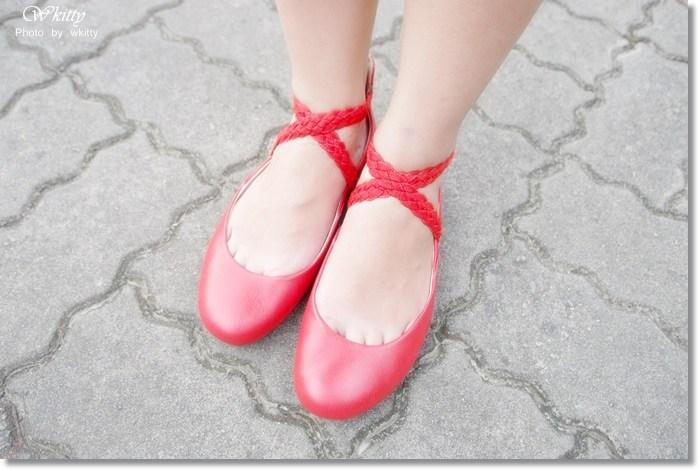 [美鞋] Bussola ♥ 耐走實穿又時尚的美鞋,紅鞋女孩的芭蕾舞夢 @小環妞 幸福足跡