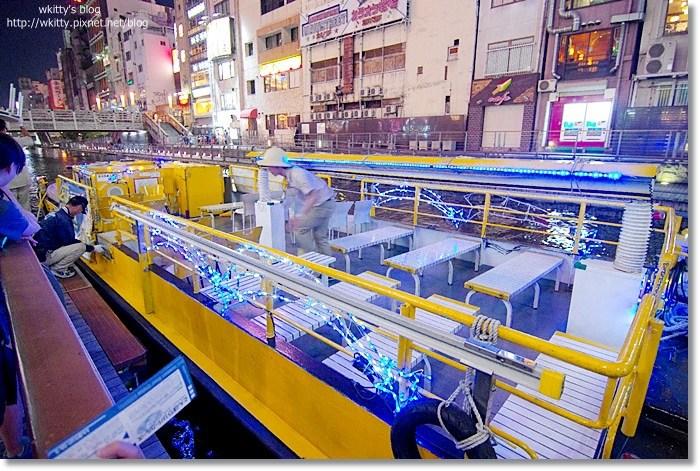 [大阪行程] 大阪周遊卡~道頓崛水上觀光船* 體驗大阪夜色之美,五光十色(16) @小環妞 幸福足跡
