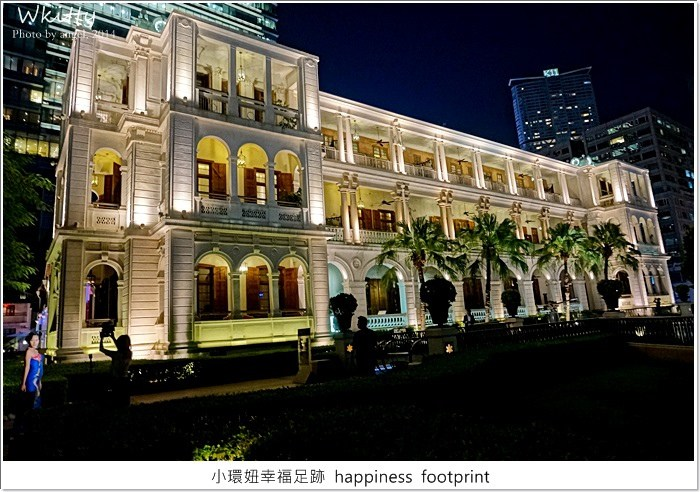 【香港三天兩夜2014(6) 】1881 Heritage * 超美麗的維多利亞建築,香港必訪夜景~ @小環妞 幸福足跡